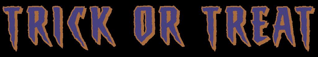 Trick Or Treat Logo Short